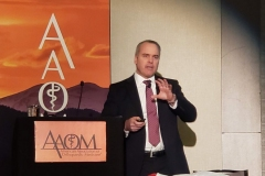Dr. Mulvaney Speaking AAOM