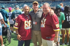 Dr. Ferrell, Dr. Mulvaney, and COO Redskins