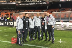 Dr. Ferrell at DC United