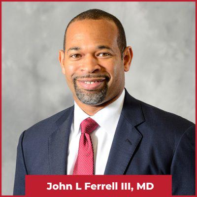 John L Ferrell lll, MD
